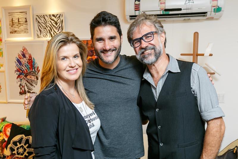 PATRICIA FUIZA, FABIO BOUILLET E CARLOS MOTTA