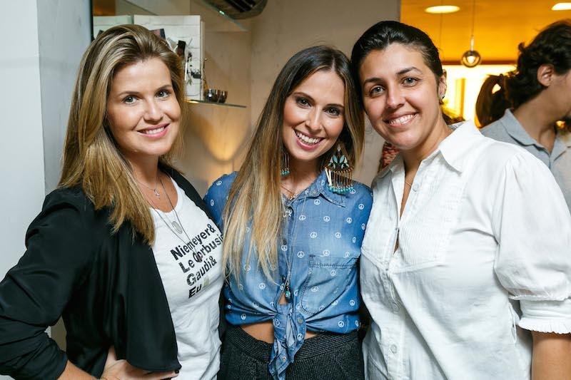 PATRICIA FIUZA, ANNY MEISLER E BIANCA DA HORA