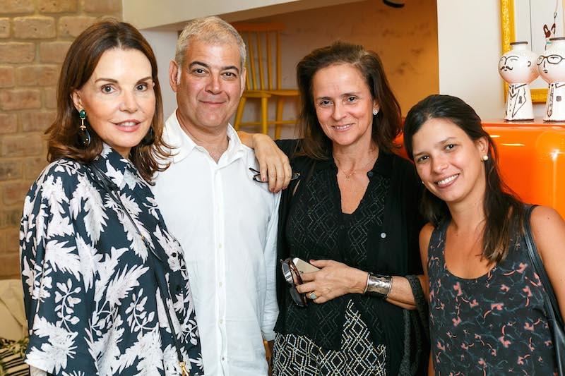 PATRICIA MAYER, MAURICIA NOBREGA, PATRICIA QUENTEL E MARIA ESTELLITA