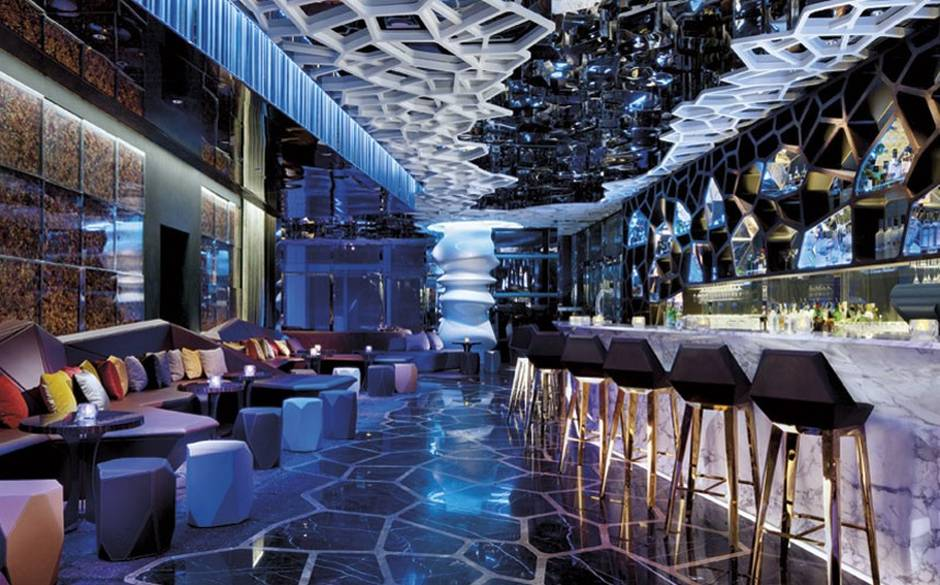 Ozone Bar no The Ritz Carlton em Hong Kong