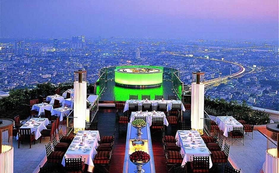 Sirocco Sky Bar em Bangkok