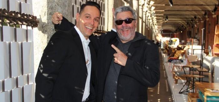Phillipe Starck na Brasil S/A em Milão