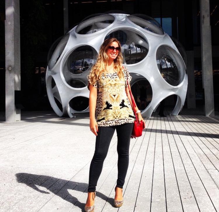 Eu no Pérez Art Museum Miami (PAMM)