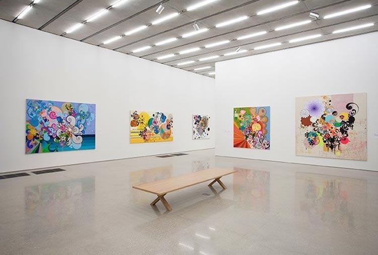 Beatriz Milhazes em exposição durante a Art Basel Miami, em 2014 - no PAMM - Pérez Art Museum Miami - queridinho dos amantes de arte, design e arquitetura. Imperdível!