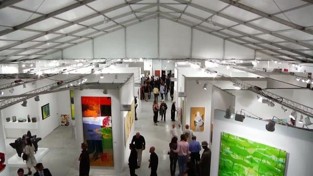 Art Basel no Centro de Convenções de Miami Beach