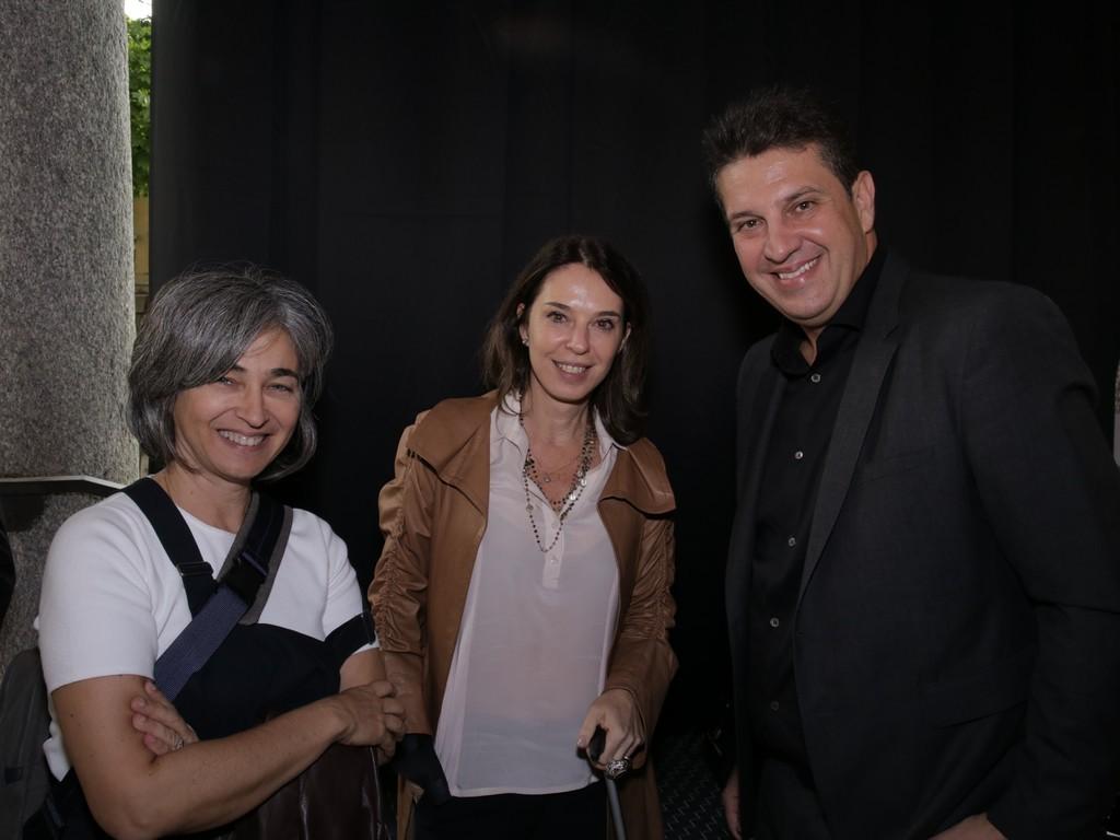Esther Schattan da Ornare, Lauro Andrade e amiga.