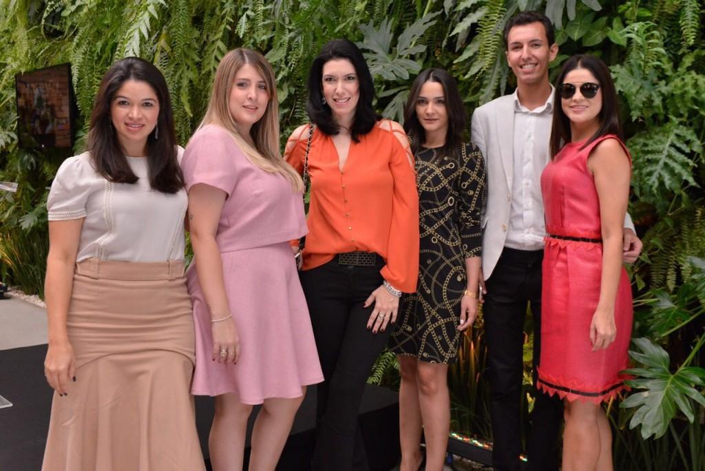 Dani, Jeh, Ale, Katia, Felipe e Andrea