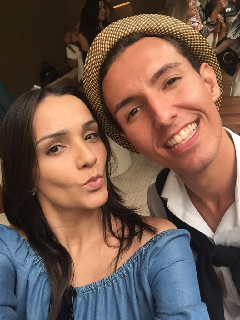 Katia Lopes do Blog Home Luxo e Felipe Portraz do Mais Interiores