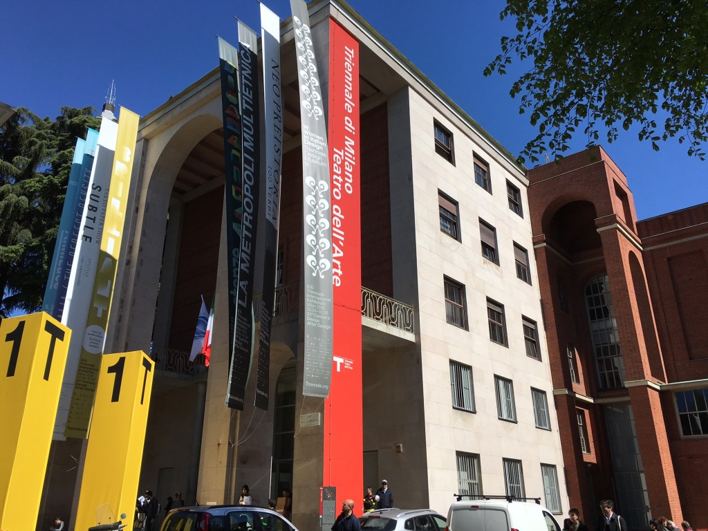 Desde 1996 a Triennale de Milano não tinha sua edição especial.