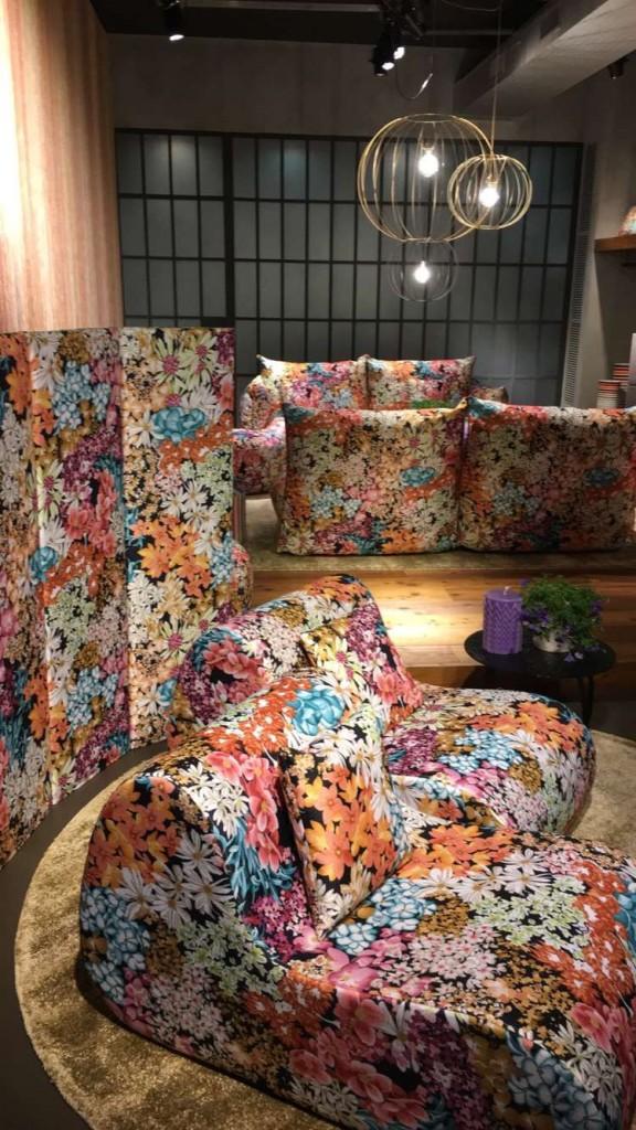 Coleção Galaxy da Missoni Home - flowerpower com tudo!