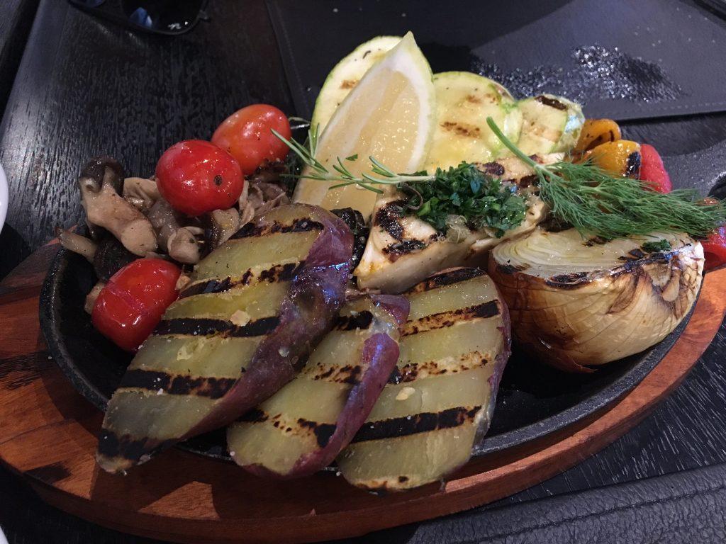 Parrilhada de legumes - meu pedido e amei! Saudável e deliciosa!!