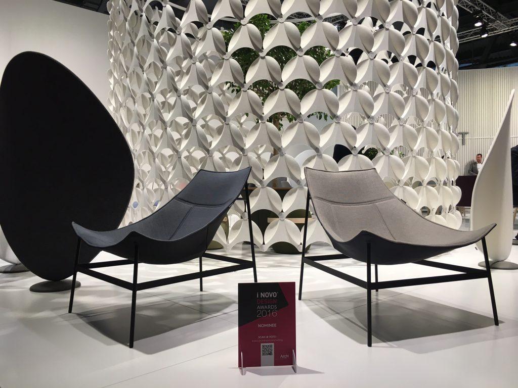 Formas geométricas e acabamentos focos são as tendências que vem influenciado o design mundial.
