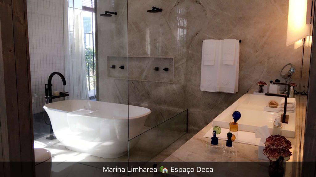 banheiro deca ame arquitetura Aline Araujo Casa Cor 30 anos