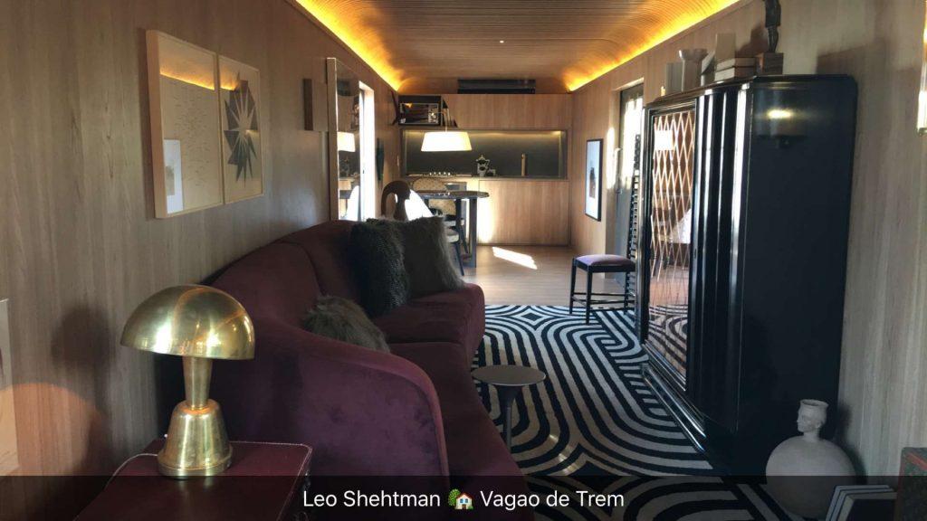 leo shehtman vagão de trem train casa cor ame arquitetura 2016