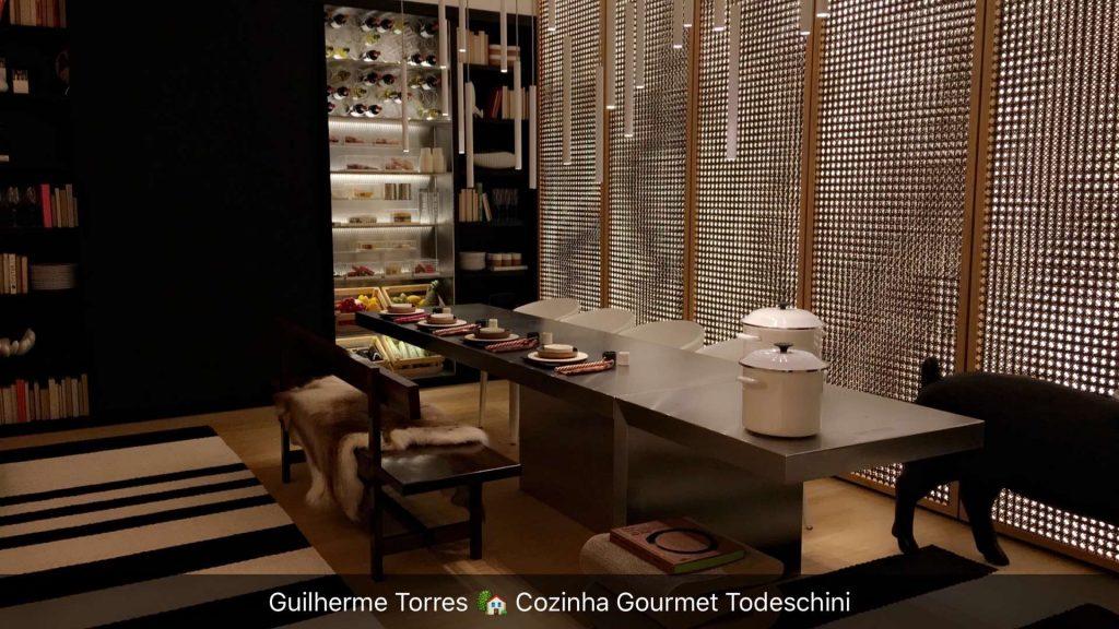 Cozinha Gourmet de Guilherme Torres tem tecnologia avançada, com a ideologia do que será comum nas casas em 2026.