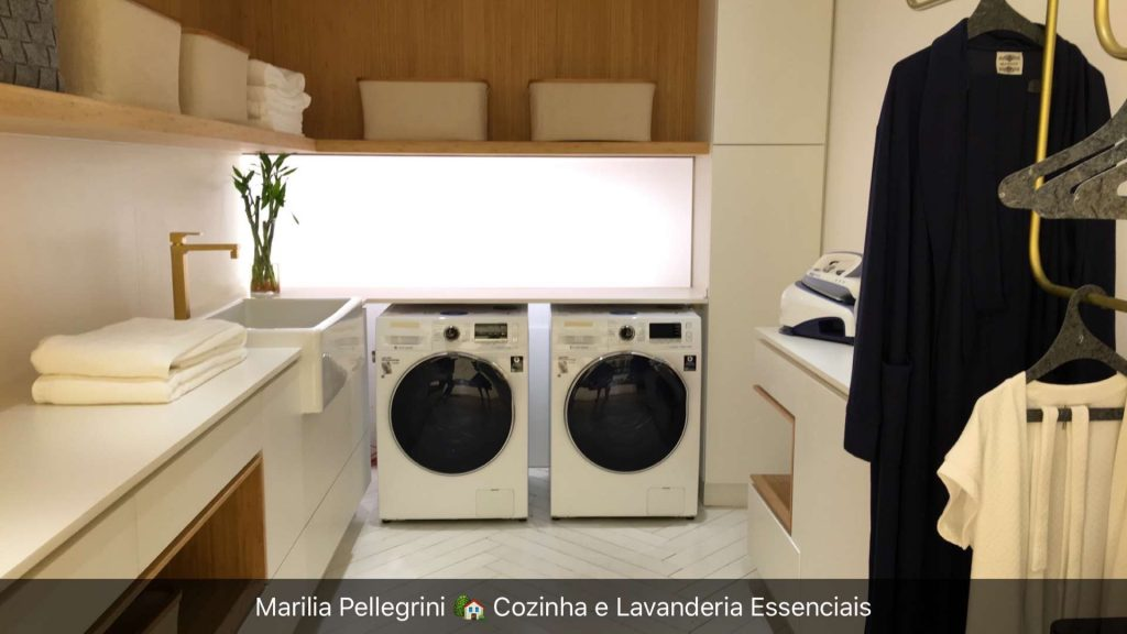 lavanderia ame arquitetura Casa Cor 30 anos cozinha essencial