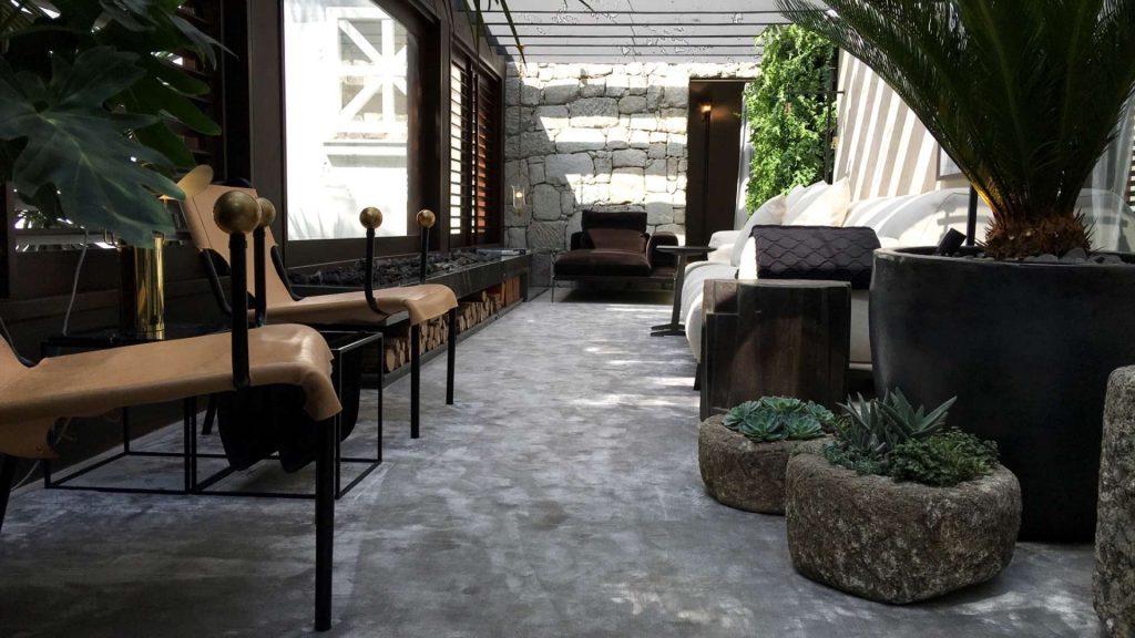 Angulo que Pedro Ariel indicou para fotografar o Terraço Gourmet de Joana Requião na Casa Cor SP 2016.