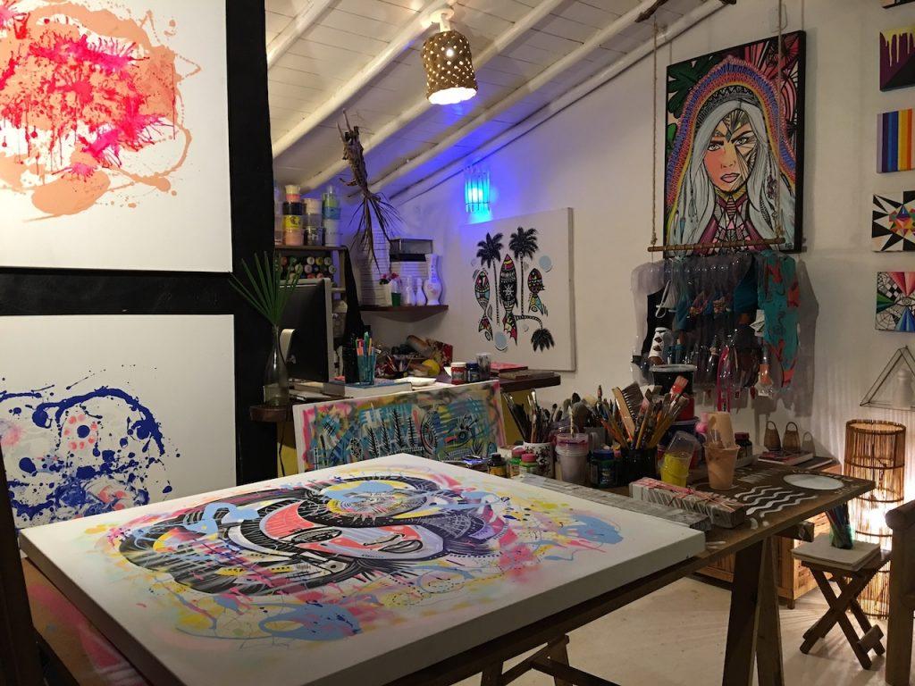 Atelier de artes, design, grafite e moda!